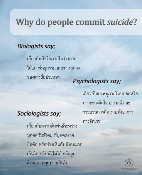 การฆ่าตัวตาย