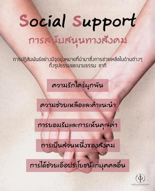 การสนับสนุนทางสังคม